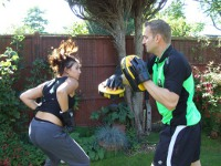 High Intentisy Training with a Personal Trainer